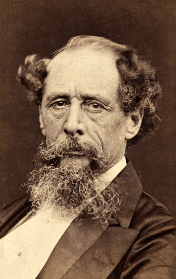 """<span class=""""caption"""">Robert Hindry Mason, photograph of Charles Dickens (1860s).</span> <span class=""""attribution""""><a class=""""link rapid-noclick-resp"""" href=""""https://commons.wikimedia.org/wiki/File:Charles_Dickens_portrait_c1860s_restore.png"""" rel=""""nofollow noopener"""" target=""""_blank"""" data-ylk=""""slk:wikimedia/nationalmediamusuem"""">wikimedia/nationalmediamusuem</a>, <a class=""""link rapid-noclick-resp"""" href=""""http://creativecommons.org/licenses/by/4.0/"""" rel=""""nofollow noopener"""" target=""""_blank"""" data-ylk=""""slk:CC BY"""">CC BY</a></span>"""