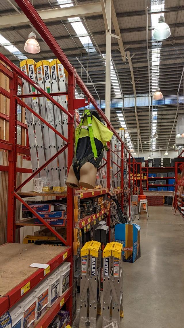 A Bunnings customer shocking discovery in aisle
