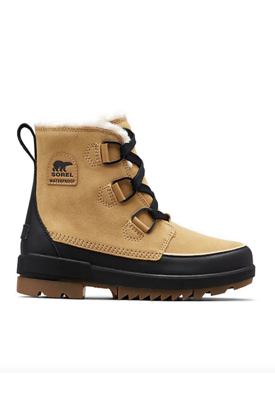 """<p><strong>Sorel</strong></p><p>sorel.com</p><p><strong>$130.00</strong></p><p><a href=""""https://go.redirectingat.com?id=74968X1596630&url=https%3A%2F%2Fwww.sorel.com%2Fwomens-tivoli-iv-boot-1870091.html%3Fdwvar_1870091_variationColor%3D373%26cgid%3Dwomen-boots&sref=https%3A%2F%2Fwww.marieclaire.com%2Ffashion%2Fg33469548%2Fbest-ankle-boots-for-women%2F"""" rel=""""nofollow noopener"""" target=""""_blank"""" data-ylk=""""slk:SHOP IT"""" class=""""link rapid-noclick-resp"""">SHOP IT</a></p><p>For those who live in climates that warrant a more heavy-duty ankle boot, or if you just like furry shoes, get these insulated waterproof suede and leather booties. They have a no-slip rubber sole and a supportive footbed, so you can conquer that patch of black ice. </p>"""
