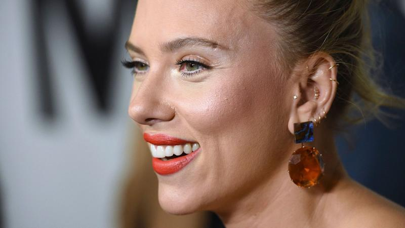 Scarlett Johansson Looks Like Royalty With a Hint of Dominatrix In This Sexy Dress