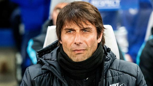 Antonio Conte was asked about his future at Chelsea following Tuesday's 1-1 draw against Barcelona in the Champions League.