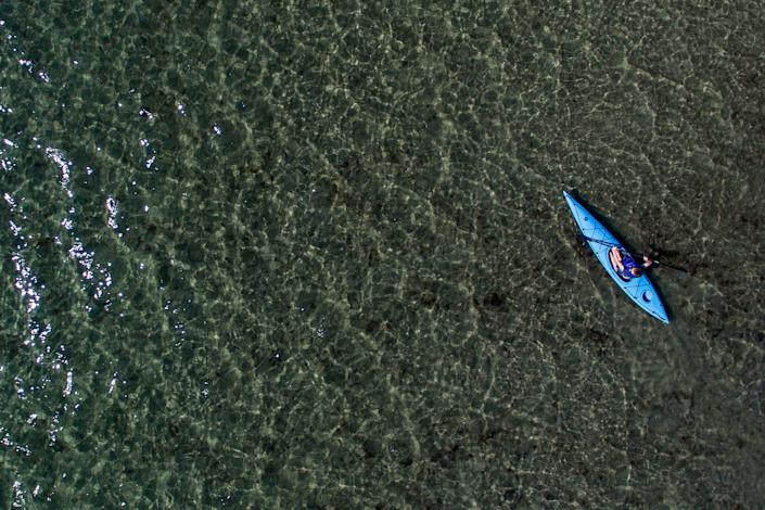Goose Rocks Beach is a serene spot for a fall paddle