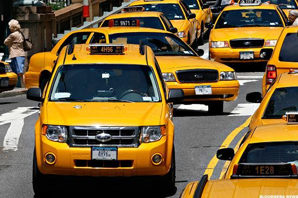 Yellow taxis were found to be 9 per cent less likely to be involved in an accident than blue ones