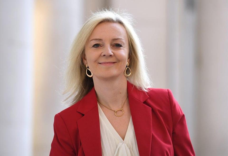 Liz Truss became Foreign Secretary on Wednesday (Leon Neal/PA) (PA Wire)