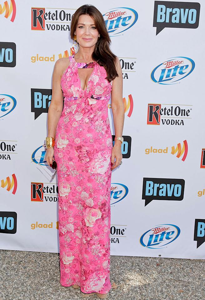 LOS ANGELES, CA - JULY 29:  Lisa Vanderpump attends GLAAD's 'Bravo Top Chef Invasion' benefit event at a private residence on July 29, 2012 in Los Angeles, California.  (Photo by Tibrina Hobson/WireImage)
