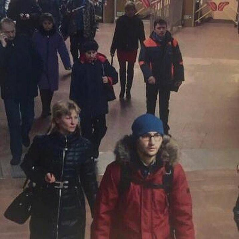 A still image of suspect Akbarzhon Jalilov walking at St Petersburg's metro station is shown in this police handout photo obtained by 5th Channel Russia April 4, 2017 - Credit: Reuters/Handout