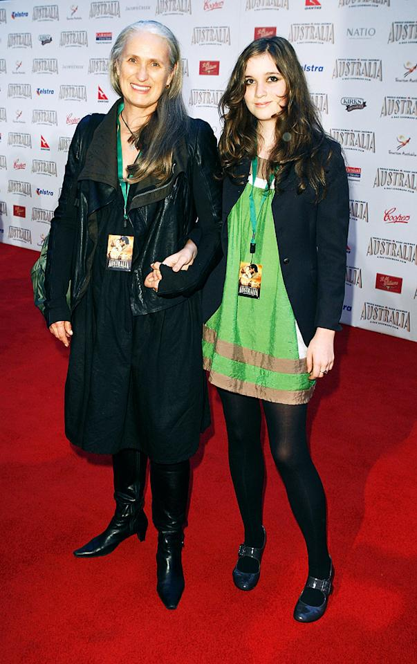 "<a href=""http://movies.yahoo.com/movie/contributor/1808411687"">Jane Goodall</a> and daughter at the Sydney premiere of <a href=""http://movies.yahoo.com/movie/1809878217/info"">Australia</a> - 11/18/2008"