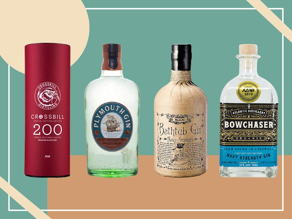 <p>A good navy strength gin will linger on the tongue 10-15 seconds after it's been drunk and it stands up to the tonic much better</p> (iStock/The Independent)