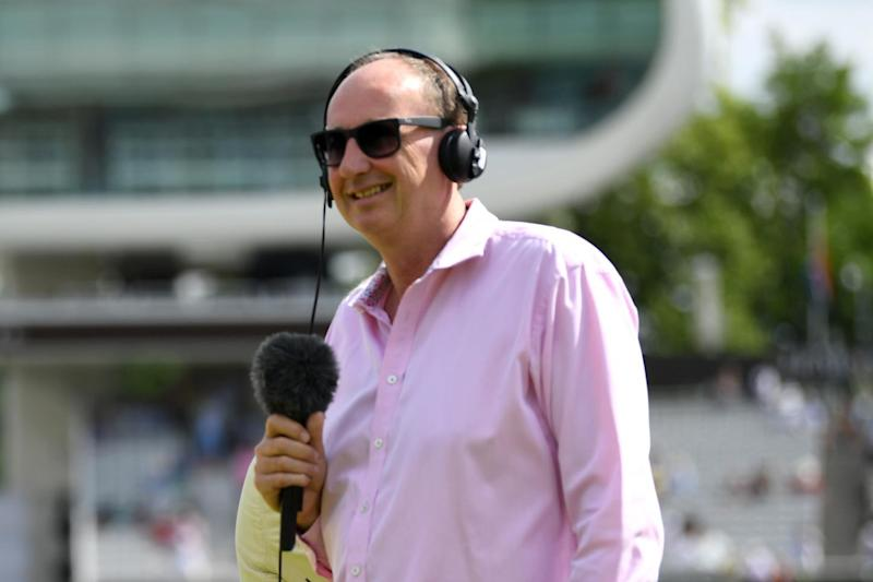 'Sorry': Jonathan Agnew: Getty Images
