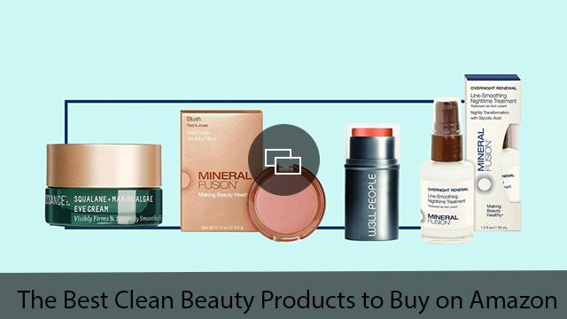 best clean beauty products on amazon