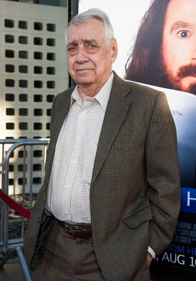 "HOLLYWOOD, CA - JULY 31: Philip Baker Hall arrives at the Premiere Of HBO Films' ""Clear History"" at ArcLight Cinemas Cinerama Dome on July 31, 2013 in Hollywood, California. (Photo by Valerie Macon/Getty Images)"