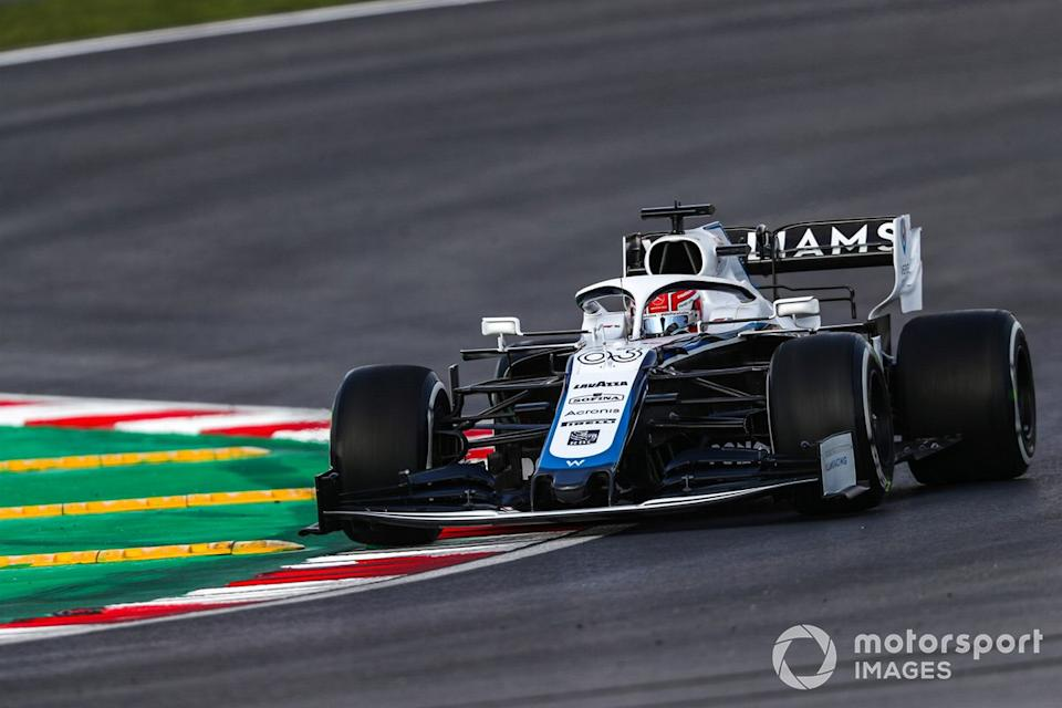 "*P20 George Russell, Williams FW43<span class=""copyright"">Charles Coates / Motorsport Images</span>"