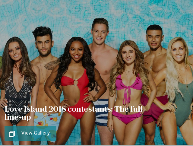 Love Island 2018 contestants: The full line-up