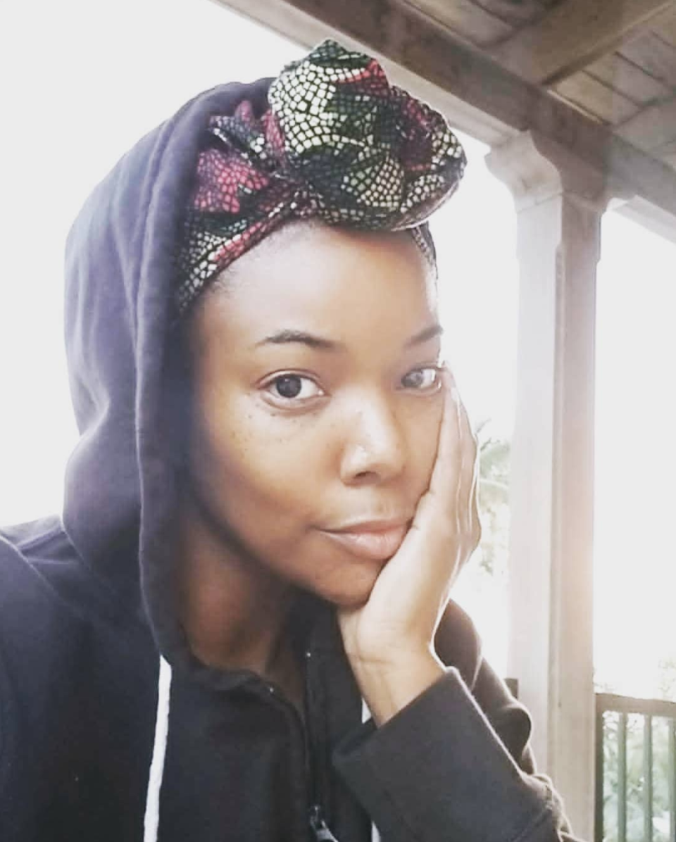 """<p>""""This year marked the 25th anniversary of my rape,"""" wrote the <em>Being Mary Jane</em> actress, who covered up in a hoodie. """"#MeToo. I know I am not alone. Together we can eradicate sexual violence, harassment and abuse. Together we can have true equality. Together we can dismantle white supremacy and racism. Together we can center the voices of the most marginalized among us. Together we can acknowledge the jig is up and its BEEN time for monumental sweeping change. #TimesUpNow."""" (Photo: <a rel=""""nofollow noopener"""" href=""""https://www.instagram.com/p/BdqqISfAD-o/?hl=en&taken-by=gabunion"""" target=""""_blank"""" data-ylk=""""slk:Gabrielle Union via Instagram"""" class=""""link rapid-noclick-resp"""">Gabrielle Union via Instagram</a>) </p>"""