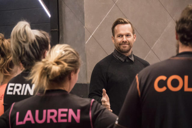 Bob Harper on Season 17 of <em>The Biggest Loser</em>. (Photo: Brandon Hickman/NBC/NBCU Photo bank)
