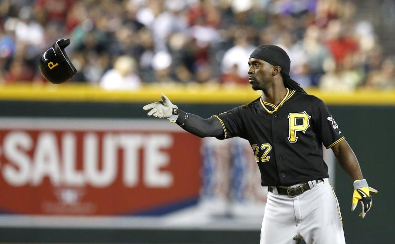 Pirates OF McCutchen exits early with ailing side