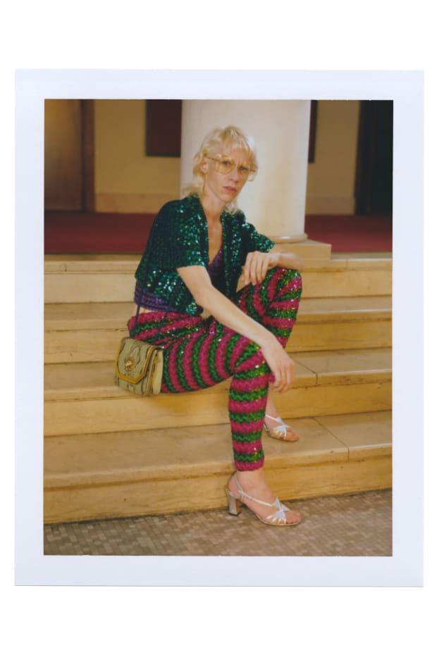 """<p>A look from Gucci's """"Ouverture of Something That Never Ended: Episode 4."""" Photo: Gus Van Sant/Courtesy of Gucci</p>"""