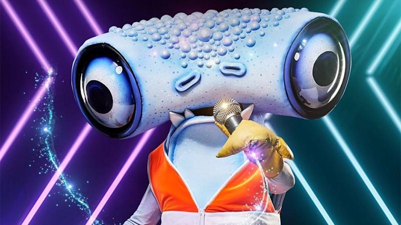 The Hammerhead on 'The Masked Singer' (Photo: Channel 10)
