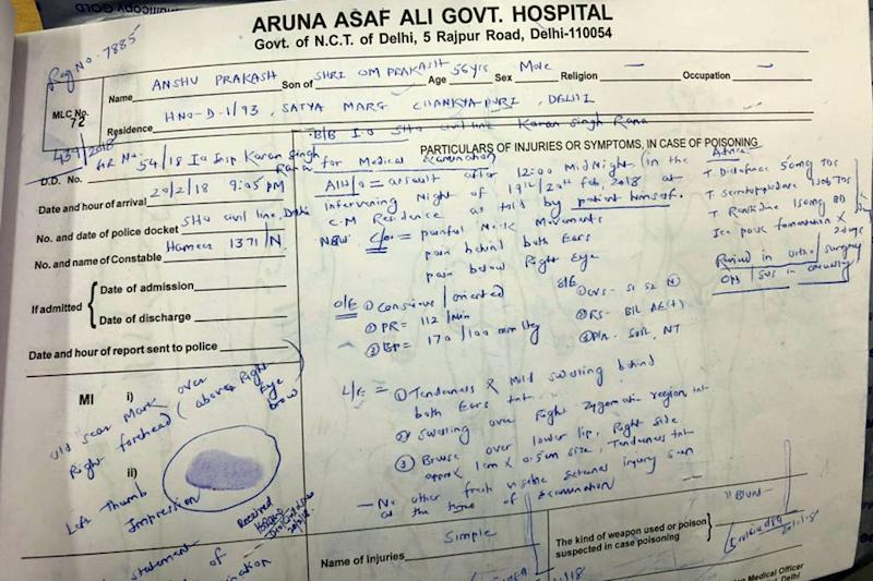 Delhi CS medical report