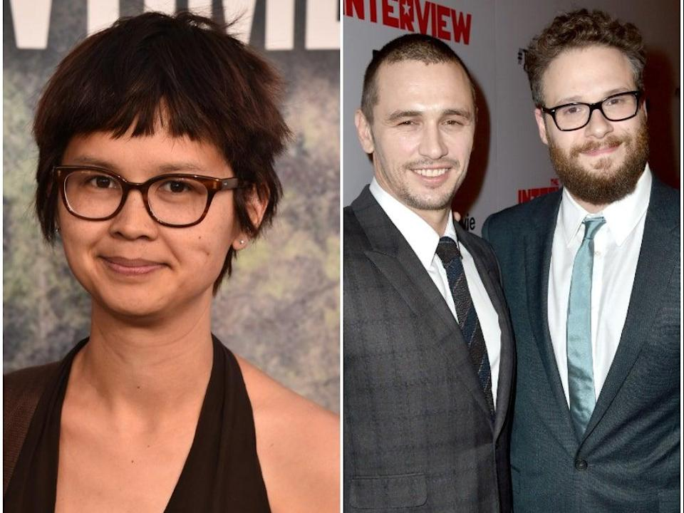 <p>Charlyne Yi accuses James Franco of being a 'sexual predator', calls Seth Rogen an 'enabler' </p> (Getty Images)