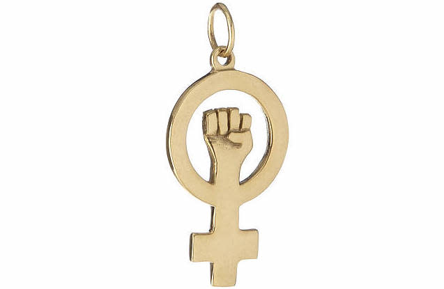This cool charm is nearly half the price of Markle's! (Photo: Uncommon Goods)
