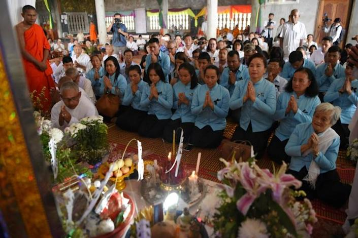 Nuon Chea remained unrepentant up until the end of his life, and blamed the killings on his 'treacherous' subordinates (AFP Photo/TANG CHHIN Sothy)