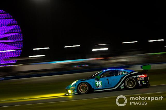 "#16 Wright Motorsports Porsche 911 GT3 R, GTD: Ryan Hardwick, Patrick Long, Klaus Bachler, Anthony Imperato <span class=""copyright"">Barry Cantrell / Motorsport Images</span>"