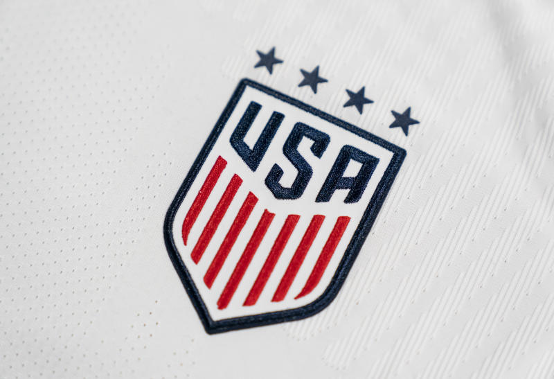 The USWNT's new primary shirt is adorned with four stars, one for each of the program's World Cup titles. (Photo courtesy of U.S. Soccer)