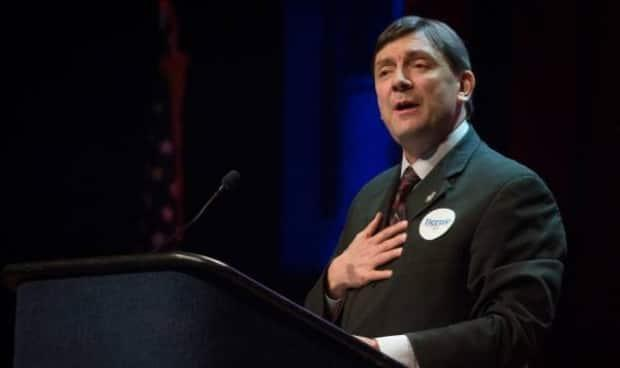 Maine Senate President Troy Jackson's bill to ban the aerial spraying of herbicides like glyphosate was vetoed by Gov. Janet Mills last Friday, a move which he says shows she's too close to the forestry industry, which is in favour of its use. (Submitted/Facebook - image credit)