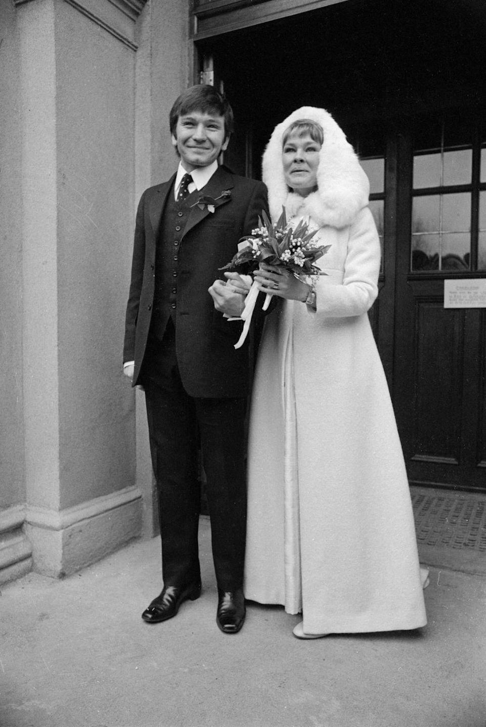 <p>The Royal Shakespeare Company players, Judi Dench and Michael Williams, tied the knot at St. Mary's Catholic Church in Hampstead, London in 1971. The pair remained married until 2001 when Williams died at the age of 65. Dench has yet to remarry. <br></p>