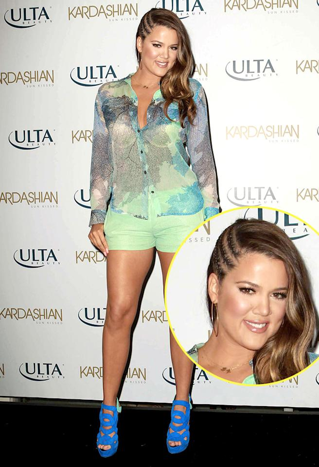 Khloe Kardashian-Odom celebrates the new Kardashian Sun Kissed line at ULTA Beauty.
