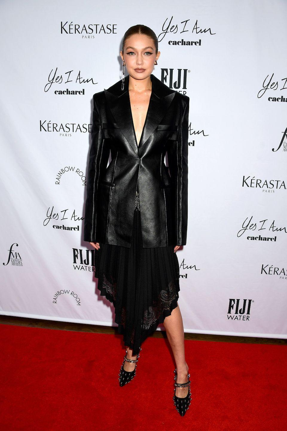 <p>The mother-of-one wore Givenchy to the red carpet event.</p>