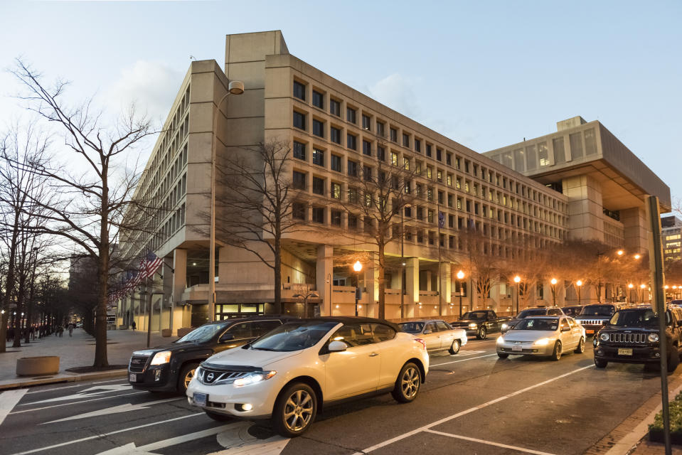 FBI Headquarters in Washington D.C. (Photo: Getty Images)