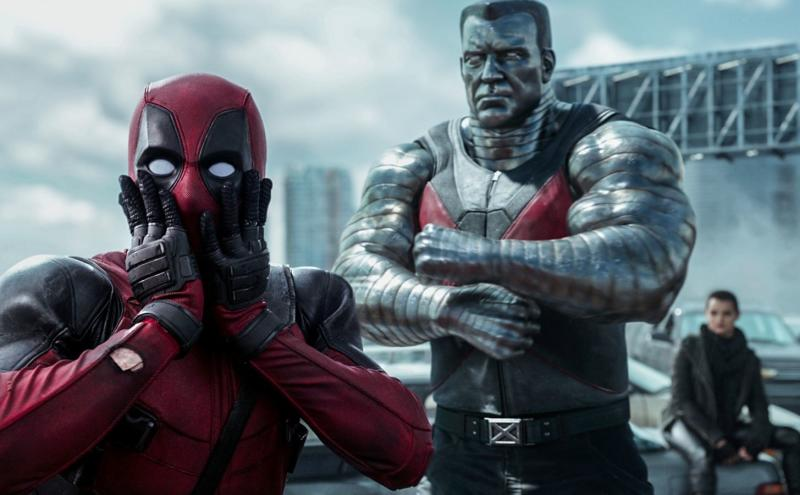 Ryan Reynolds as Deadpool alongside Colossus in the 2016 hit. (Credits: 20th Century Fox)