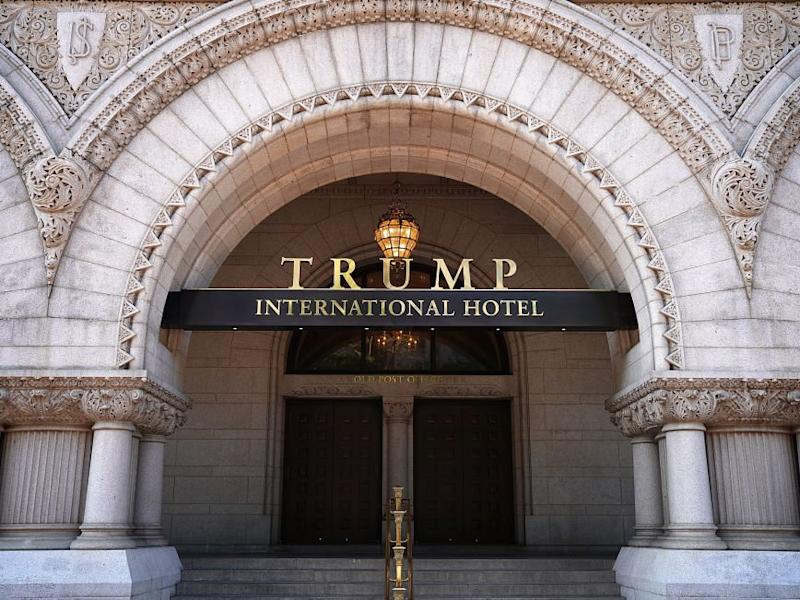 Das Trump International Hotel in Washington D.C.