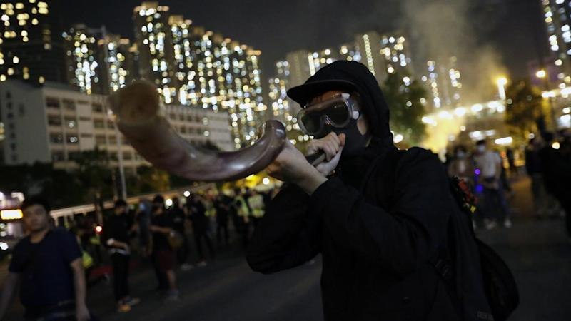 Protesters say Hong Kong police have used excessive force in their bid to quell widespread unrest