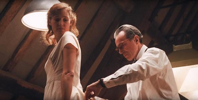 Vicky Krieps and Daniel Day-Lewis in <em>Phantom Thread</em> (Photo: Focus Features/Courtesy Everett Collection)