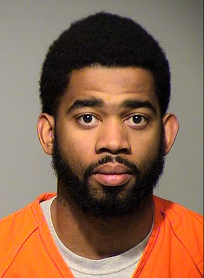FILE - This undated file photo provided by the Milwaukee County Sheriff's Office shows Milwaukee police officer Dominique Heaggan-Brown, who has been charged with reckless homicide in the Aug. 13, 2016, shooting death of Sylville Smith according to online court records Thursday, Dec. 15, 2016. Heaggan-Brown shot Smith, who is also black, following a traffic stop on the city's north side. The shooting sparked two nights of riots in the city. (Milwaukee County Sheriff's Office via AP, File)