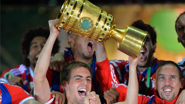 The president of the German Football Federation Reinhard Grindel has confirmed Berlin will continue to hold the final of the DFB-Pokal.