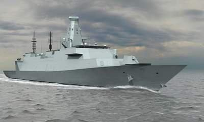New Navy Warship Plans Released By MoD