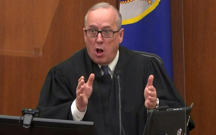 Hennepin County District Judge Peter Cahill - Pool via REUTERS