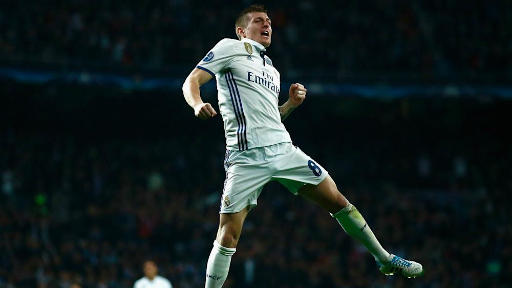 Toni Kroos Real Madrid Napoli