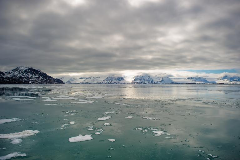 Arctic sea ice has reached its lowest winter point since satellite observations began in the late 1970s, raising concerns about faster ice melt and rising seas due to global warming, US officials said Thursday