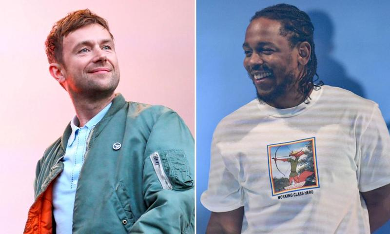 Damon Albarn and Kendrick Lamar.