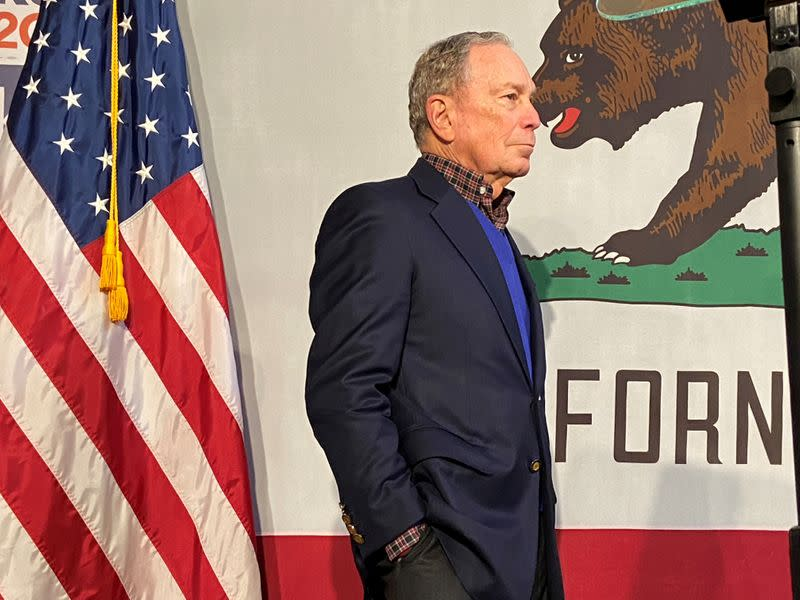 'Wall-to-wall campaign': Californians bombarded with Bloomberg ads