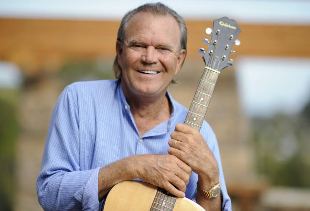 "<p>The musician was known for such songs as ""By the Time I Get to Phoenix"" and ""Rhinestone Cowboy."" He died Aug. 8 at age 81. (Photo: Phil McCarten/Reuters) </p>"