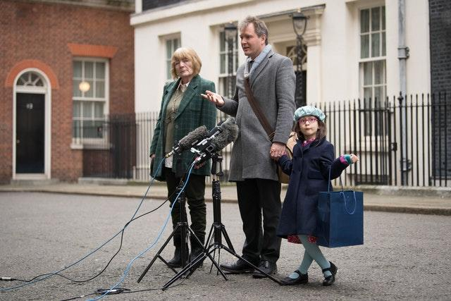 Mrs Zaghari-Ratcliffe said she felt nauseous and had experienced a continual cold sweat (Stefan Rousseau/PA)