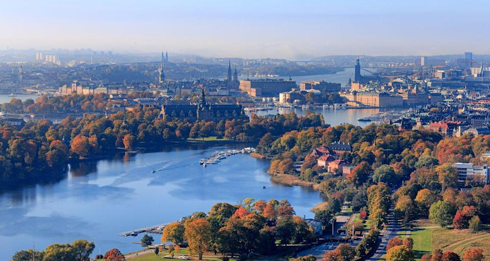 <p>Okay, so this isn't technically an island, or at least not in the way you'd think of a tropical beach with palm trees and Mai Tais, but Stockholm, Sweden is the perfect destination for anyone who loves interesting cities with tons of action while also being able to enjoy coast lines. </p>