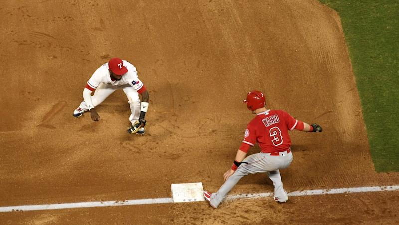 Rangers Turn Rare Triple Play vs. Angels, Make MLB History