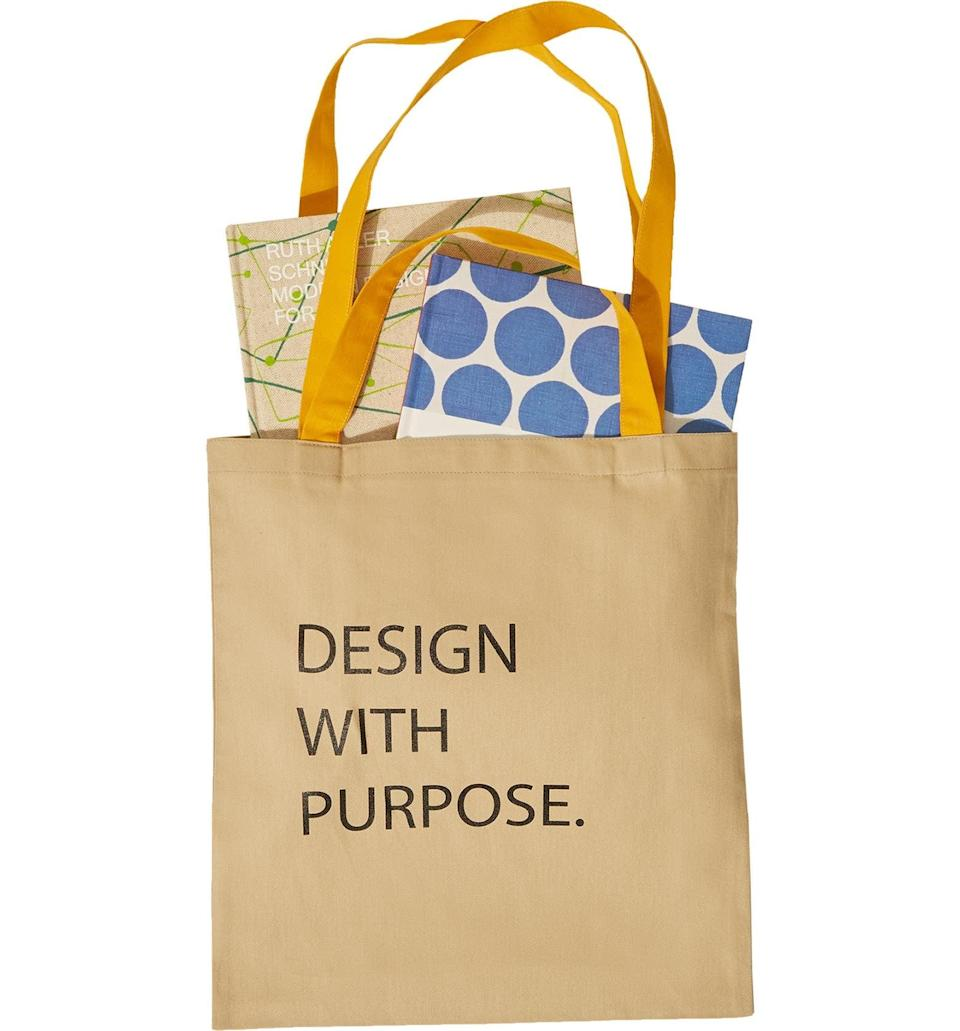 <p>This <span>Goodee Women in Design Book &amp; Tote Gift Set</span> ($100) makes for a perfect gift to send.</p>